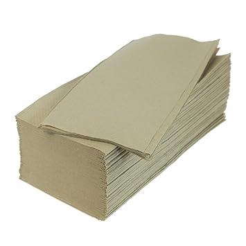 Papel secamanos (500 unidades, 25 x 23 cm, reciclado ZZ veces): Amazon.es: Hogar