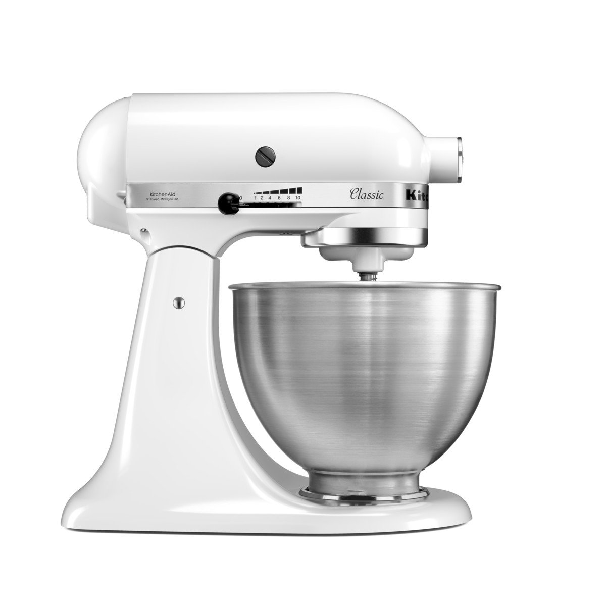 KitchenAid 5K45SSBWH Classic Stand Mixer, 4.3 Litre, White: Amazon.co.uk:  Kitchen U0026 Home