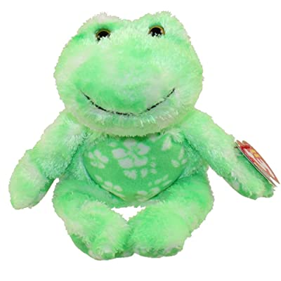 TY Beani Babies Palms - Ty Island Frog: Toys & Games