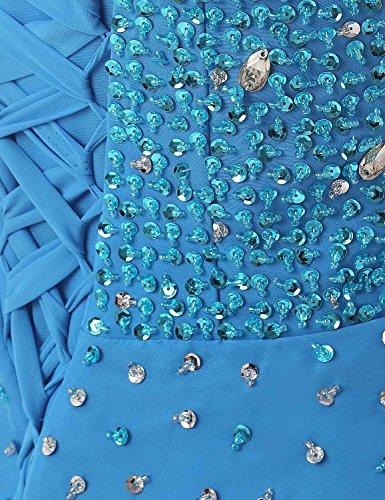... Sarahbridal Damen High-Low Perlen Strasssteine Chiffon Schatz Hals  Abendkleider SSD080 Königsblau 8rHEj ... 6143cc62e8
