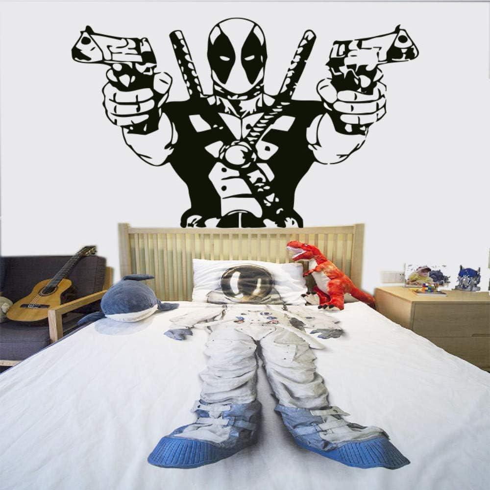 Deadpool Marvel-Superhelden Comic Book Hero Wanddekoration Aufkleber Bild