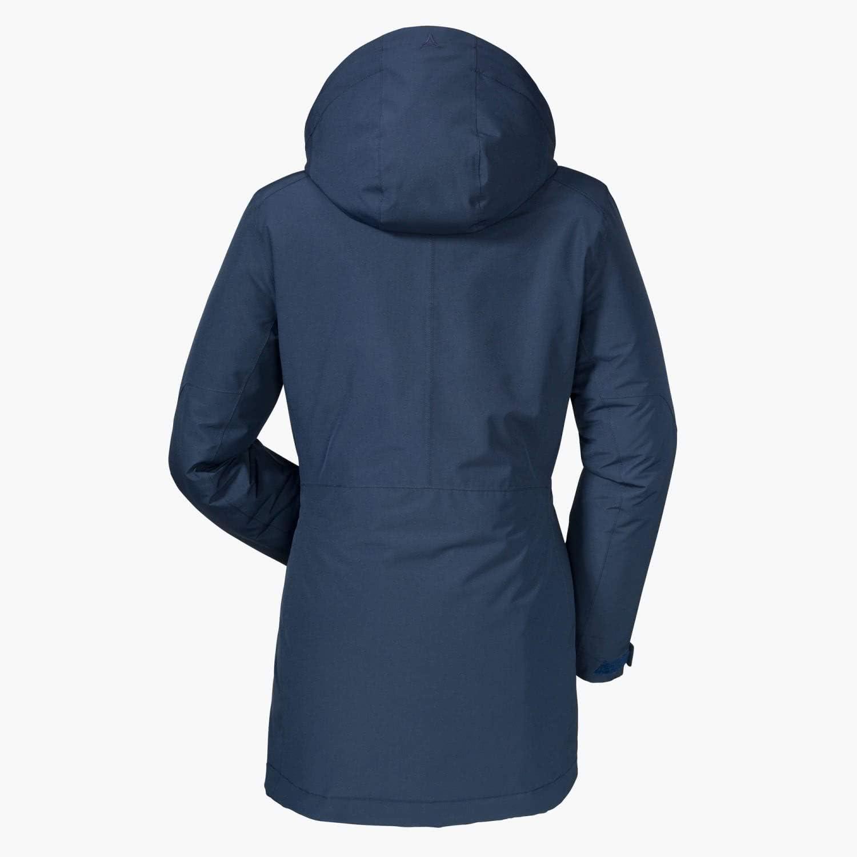 Schöffel Damen Insulated Jacket Portillo wind- und wasserdichte Winterjacke für Frauen, warme und atmungsaktive Outdoor Jacke navy blazer