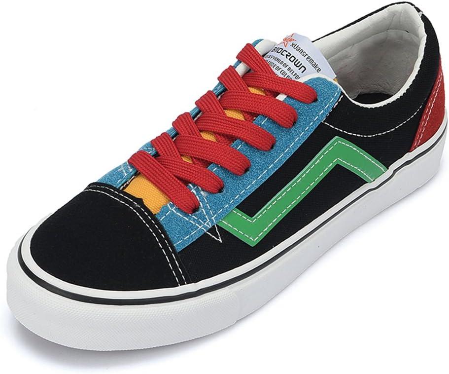 Veribuy Contrast Color Canvas Shoes