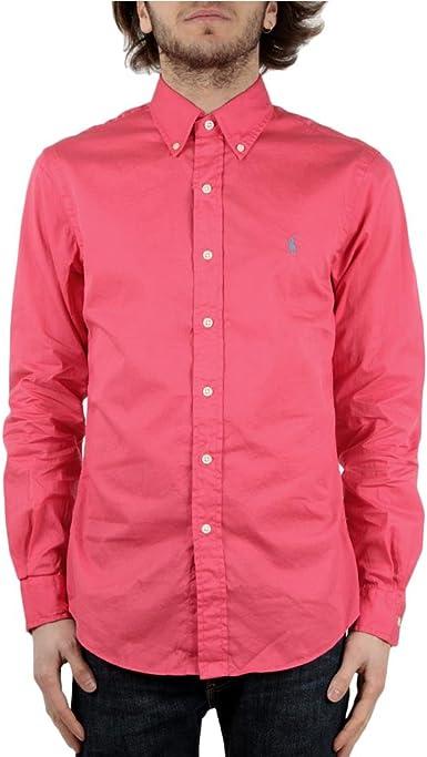 Ralph Lauren Fuxia Shirt, Hombre.