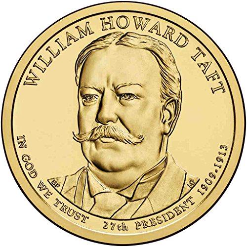 2013-d-taft-presidential-dollar-choice-uncirculated