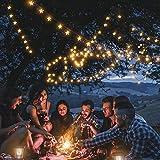Solar Star String Lights 40Ft 100LED , KeShi 8