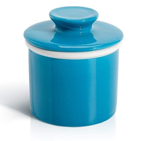 Amazon.com: Sweese Porcelain Butter Keeper Crock ...