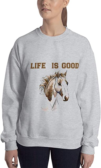 Who Needs A Boyfriend Horses Sweater Jumper Mens Girls Valentines Funny Quote