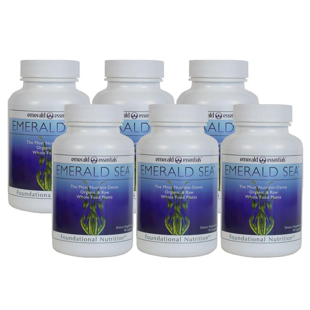 Emerald Sea Raw Organic Seaweed - (6 Pack)