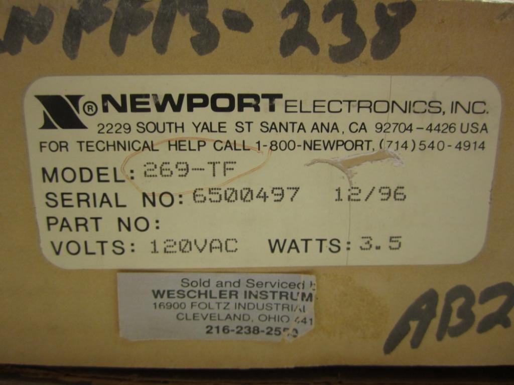 Details about  /NEW NEWPORT MODEL 269 DIGITAL PYROMETER