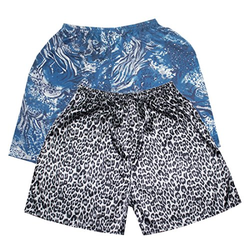 (Pack of 2) Mens Sleepwear - Silk Couture Boxer Shorts / ...