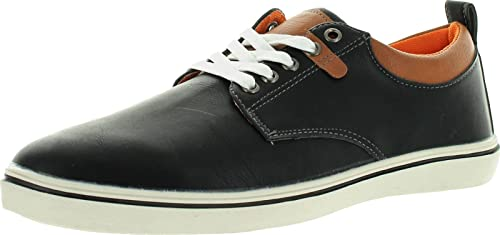 Marco Vitale Mens 32043 Casual Lace Up Shoes,Black,8.5