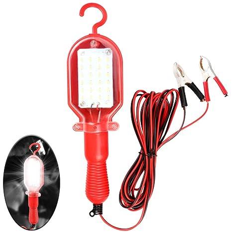 Led Pour W Pince De Batterie Portable 20 Travail Avec Lampe J1clFK