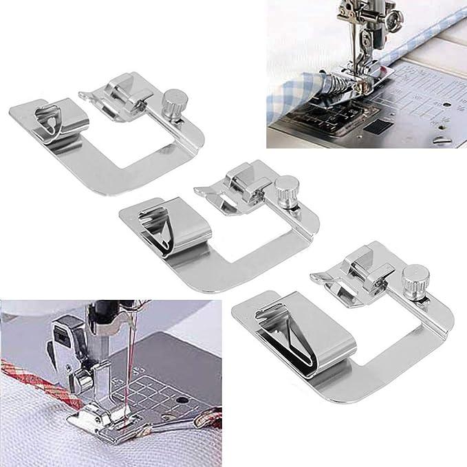 LINSUNG 1 Unids Multifuncional Crowfoot para Repuestos de Accesorios de Costura para Máquinas de Coser, 4/8