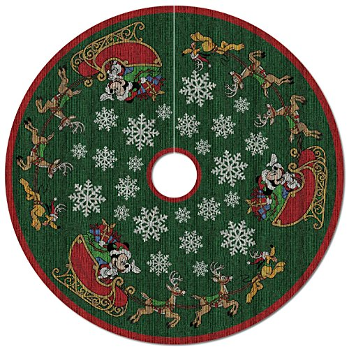 Disney Christmas Tree (Mickey Mouse Oh, What Fun! Tree Skirt With Light)