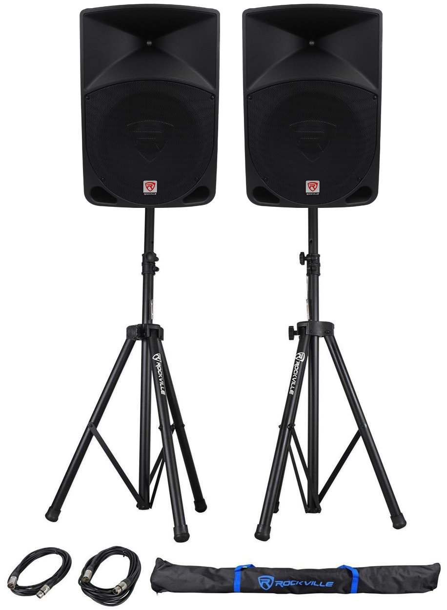 Rockville RPG15 2,000 Speakers with a 15  Woofer
