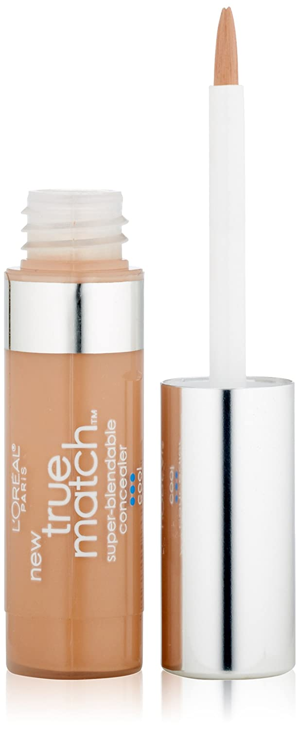 L'Oreal Paris True Match Super-Blendable Concealer, Light/Medium Cool, 0.17-Fluid Ounce