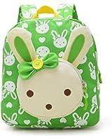 Skyflying Rabbit Animals Kids Book Backpack Baby Girls School Bag