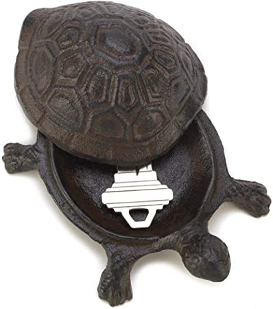 TURTLE KEYHOLDER POLYRESIN-Hide the Keys!