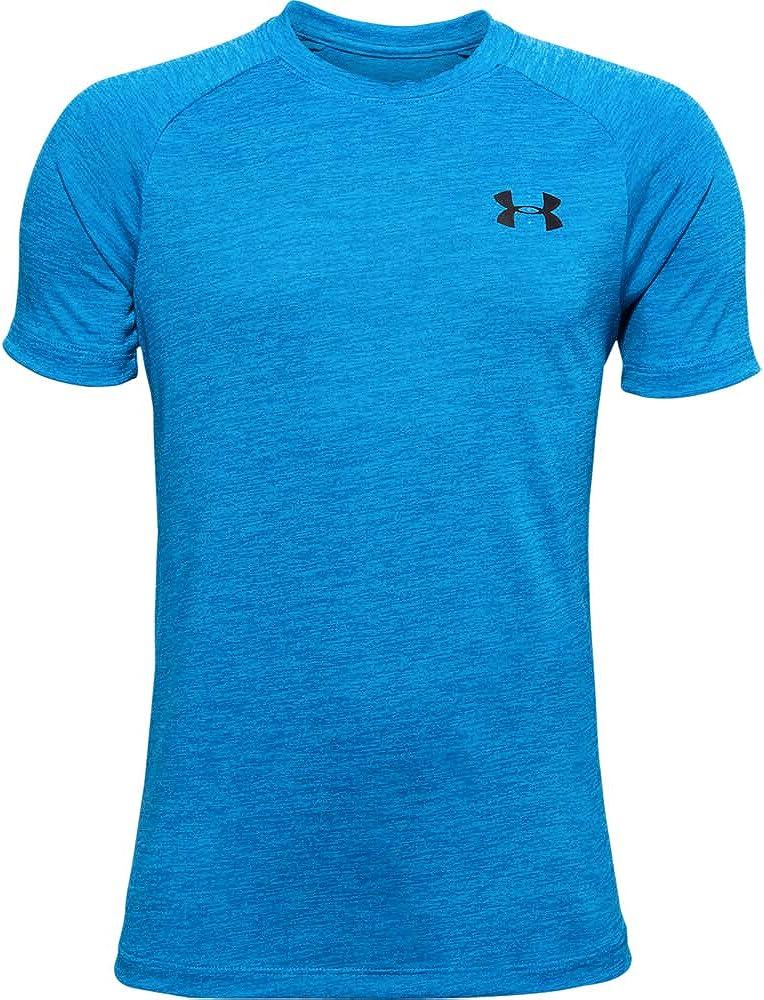 Under Armour Boys Tech 2.0 Gym Workout T-Shirt