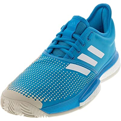 adidas Men's Solecourt Boost Clay Tennis Shoe | Tennis & Racquet Sports