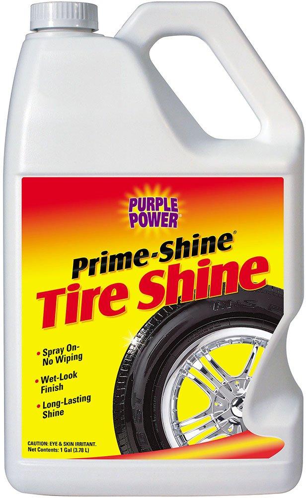 Purple Power (9620C-6PK) Prime-Shine Tire Shine - 1 Gallon , (Case of 6) by PURPLE POWER (Image #1)