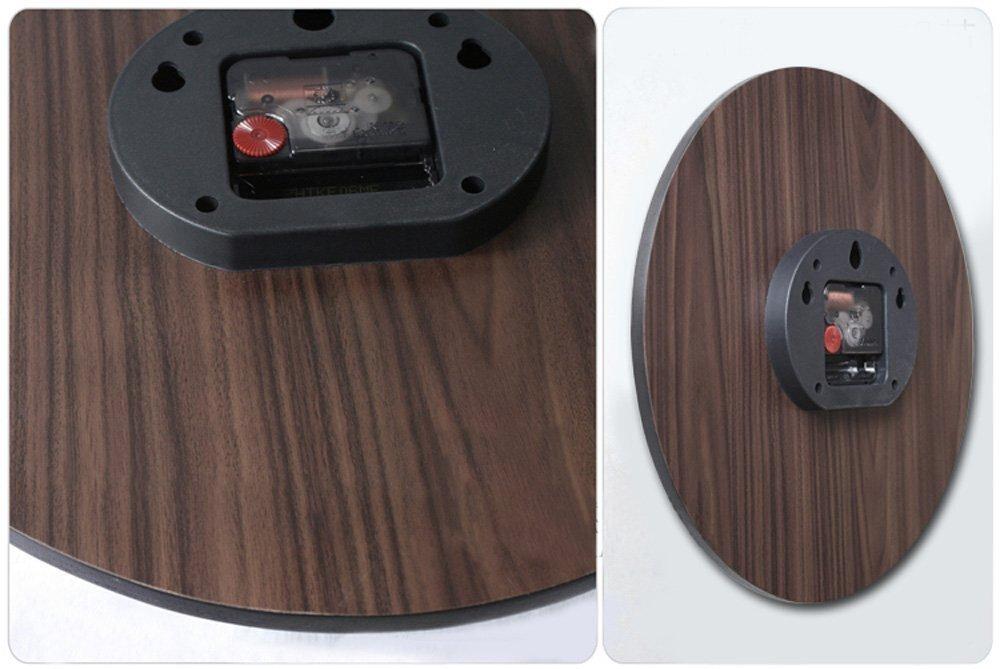 Alicemall Reloj de Pared 30 * 30 cm Decorativo Vintage Reloj Cologado con Mecanismo Silencioso Decoración para Habitación Dormitorio Oficina Bar: Amazon.es: ...