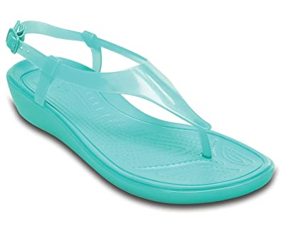 Crocs really sexi t strap sandal