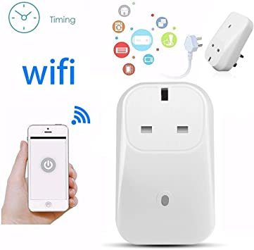10A WiFi Plug Compatible with Alexa No Hub Required Echo Google Assistant IFTTT EXTSUD Smart Plug 3 Pack 2000W Remote Control Timer Scene Setting Function