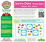 Earths Best Organic Sunny Day Toddler Snack Bars with Cereal Crust, Made With Real Strawberries - 8 Count (Pack of 6)