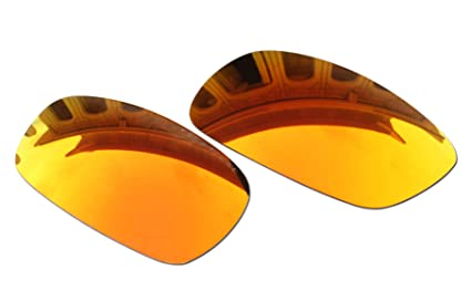 5e41613c48 Polarized Lenses Replacement for Oakley (OO4044) Crosshair 2.0 Sunglasses  (Fire Red Mirror Coatings
