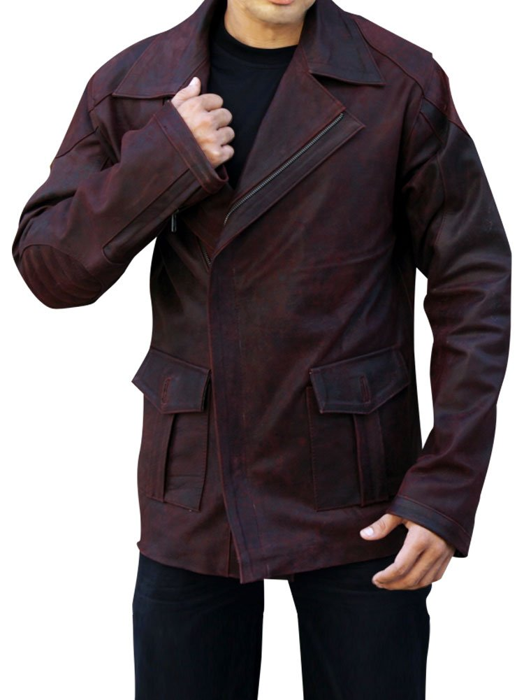 Outfitter Jackets Men's From Paris With Love Travolta Jacket XXX-Large Brown by Outfitter Jackets (Image #1)