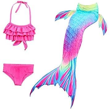 Bikini De Trajes De Baño Infantil Cola De La Sirena del ...