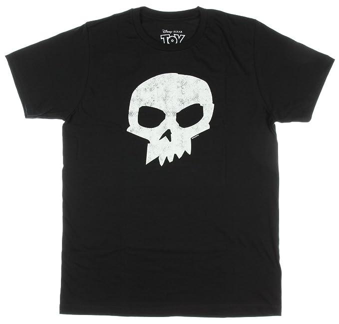 e5032647a65a88 Amazon.com: Toy Story Disney Mens Sid Skull T-Shirt: Clothing