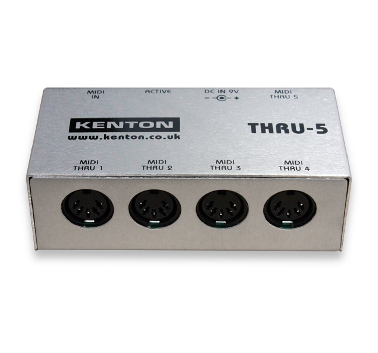 Qualified Kenton Thru5 Midi Thru Box *supplied With Uk 3-pin Power Adapter* Choice Materials Musical Instruments & Gear