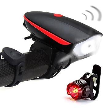 Fineed Bike Iight Horn Bike Lights Front And Rear