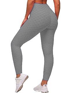Amazon.com: NORMOV Womens High Waist Yoga Pants Slimming ...