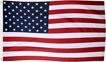 American Flag Polyester Stars Brass Grommets USA Shipping 3/' x 5/' FT USA US U.S