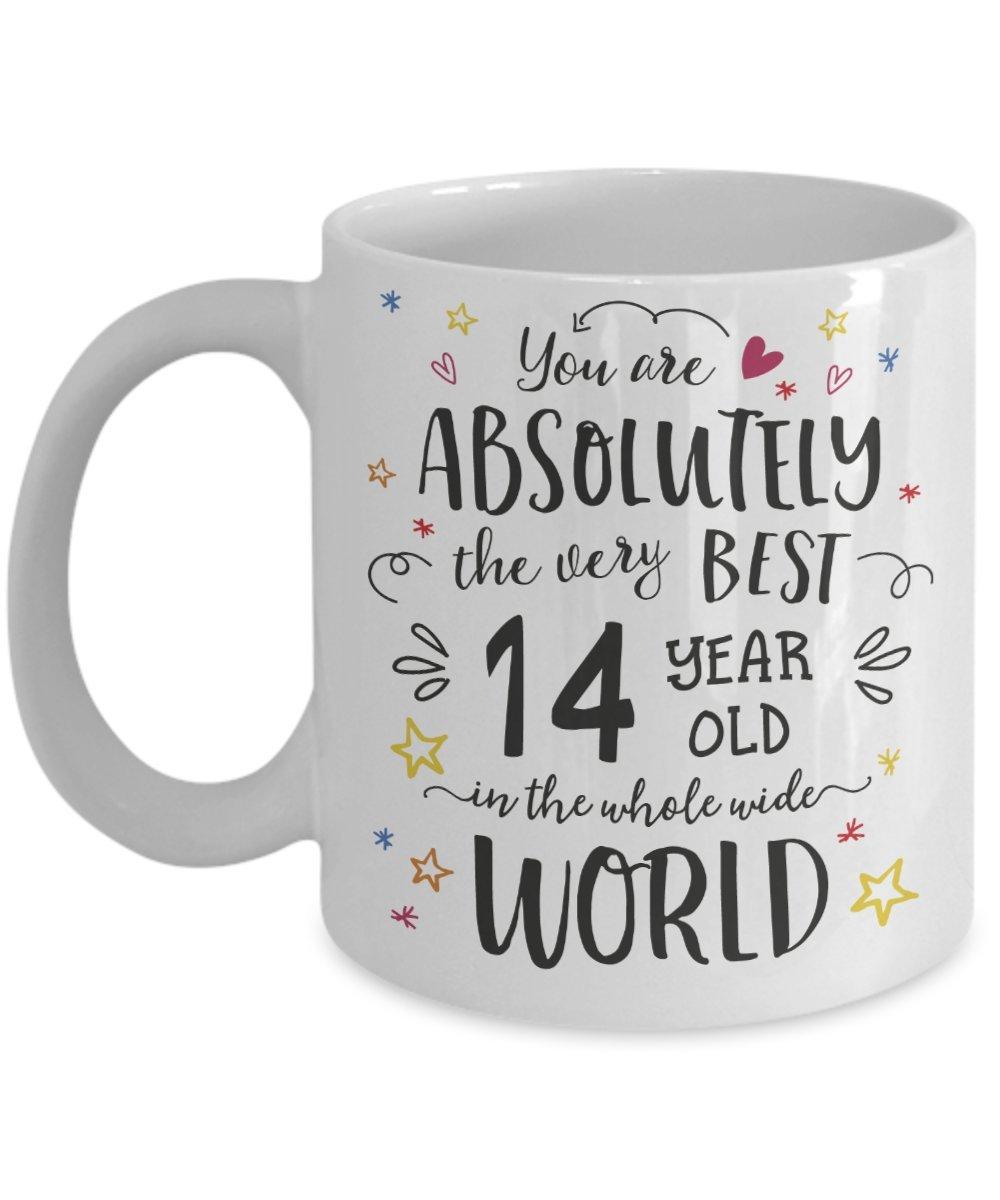 Amazon 14th Birthday Gift Mug