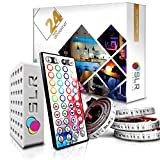 Best SUPERNIGHT Under Cabinet Lights - 4pc Multi-Color RGB LED Strip Kit, 24-inch Pre-Cut Review