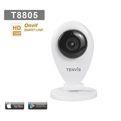 Tenvis T8805 Cámara IP de seguridad en HD 720p 1280x720 H264 ...