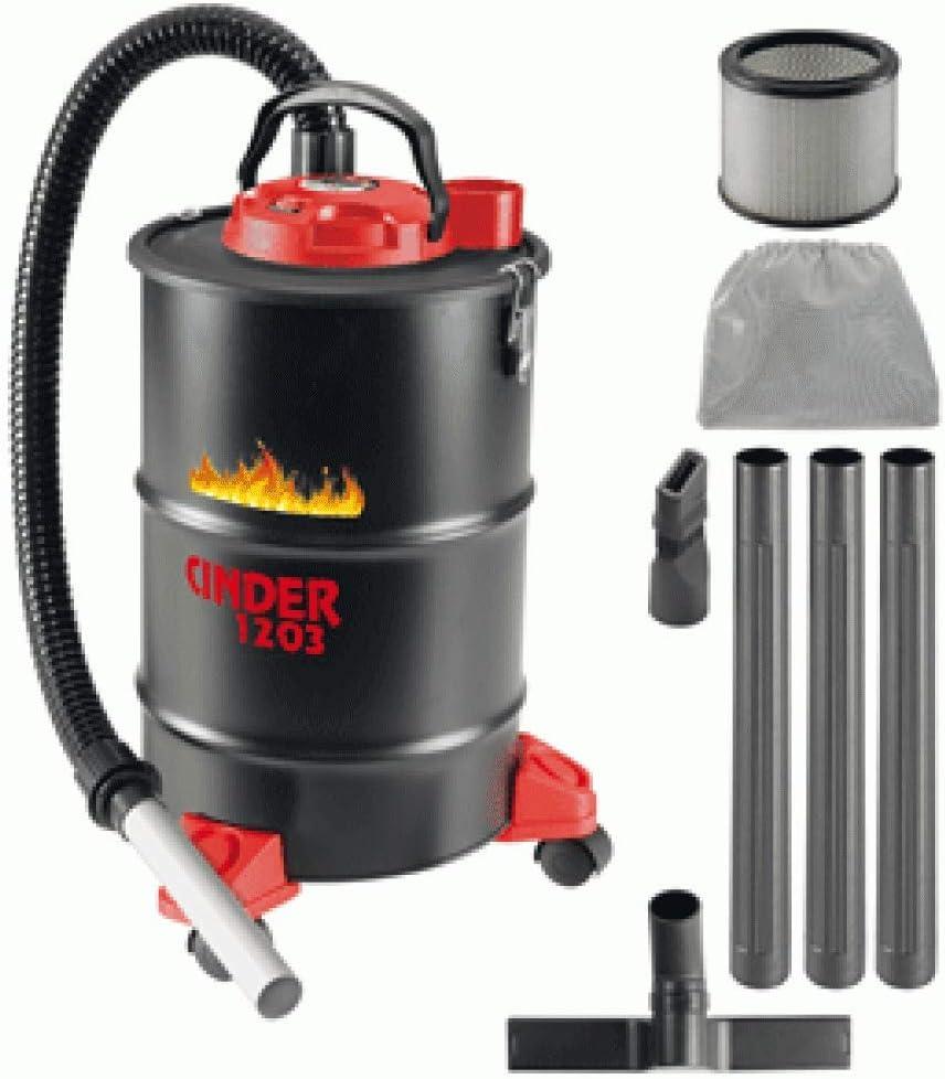 Aspiradora de 1200 W de 29 l CINDER 1203 para cenizas calientes hot ash vacuum cleaner 1350135 ideal para chimeneas estufas y limpieza de pellets de carbono: Amazon.es: Hogar