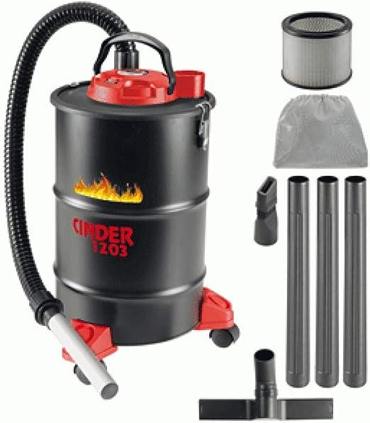 Aspiradora de 1200 W de 29 l CINDER 1203 para cenizas calientes ...