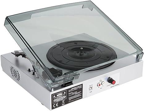 Jago - Tocadiscos USB para digitalizar discos de vinilo, incluye ...