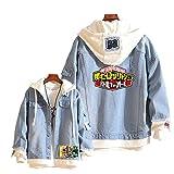 Boku No Hero Academia My Hero Academia Denim Jacket Hoodie Purse Set Cosplay Unisex