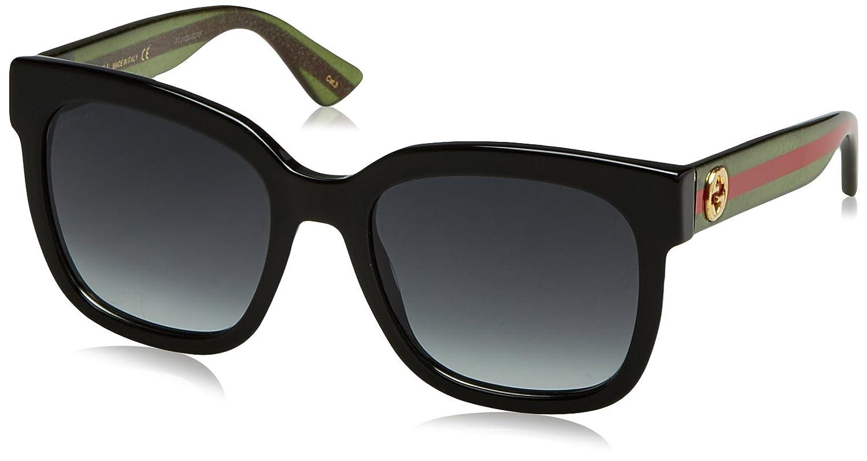 Gucci GG0034S gafas de sol, BLACK, 54 para Mujer