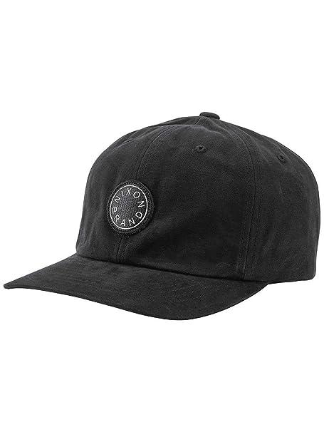 Nixon Gorra Europe Olivas Strapback Hat Hombre Negro Talla Unica: Amazon.es: Ropa y accesorios