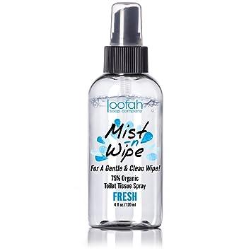 Amazon.com: Toilet Tissue Spray - Mist N Wipe - Better Than ...