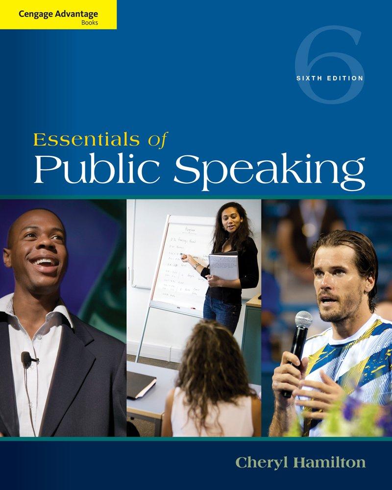 Cengage Advantage Series: Essentials of Public Speaking (Cengage Advantage Books)