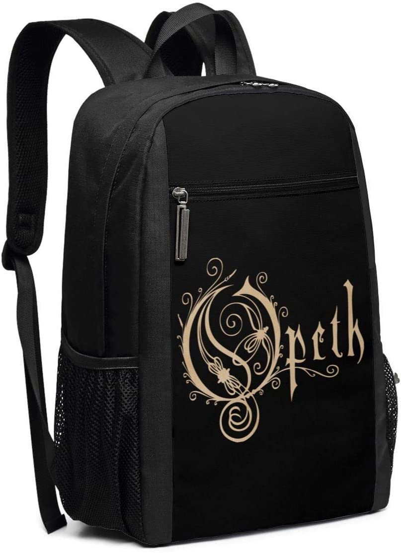 DaihAnle Opeth Unisex 17 Inch Computer Game Laptop Shoulder Bag Outdoor Backpack Bag